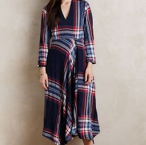 Isabella Sinclair plaid dress XL